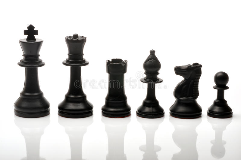 Download Chess pieces stock image. Image of pone, bishop, king - 19160641