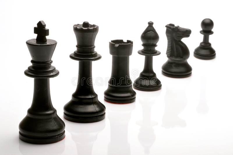 Download Chess pieces stock image. Image of black, king, knight - 19160649