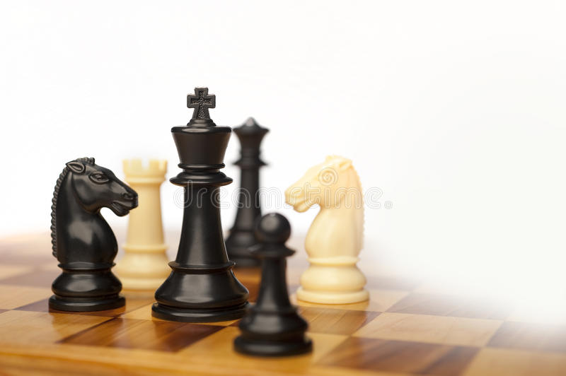 Download Chess pieces stock photo. Image of choice, decision, game - 25364172