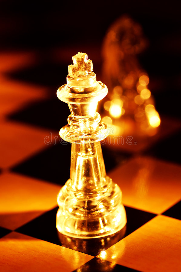 Chess Pieces stock photography