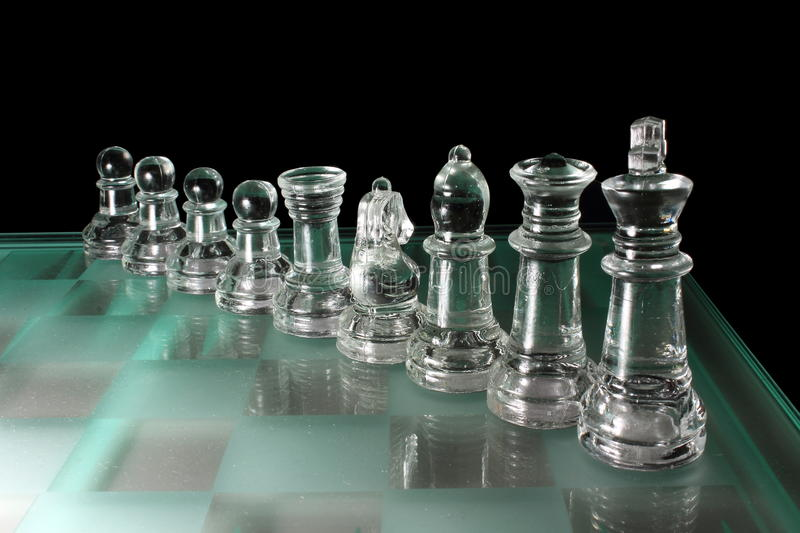 Download Chess pieces stock image. Image of table, board, battle - 26673557