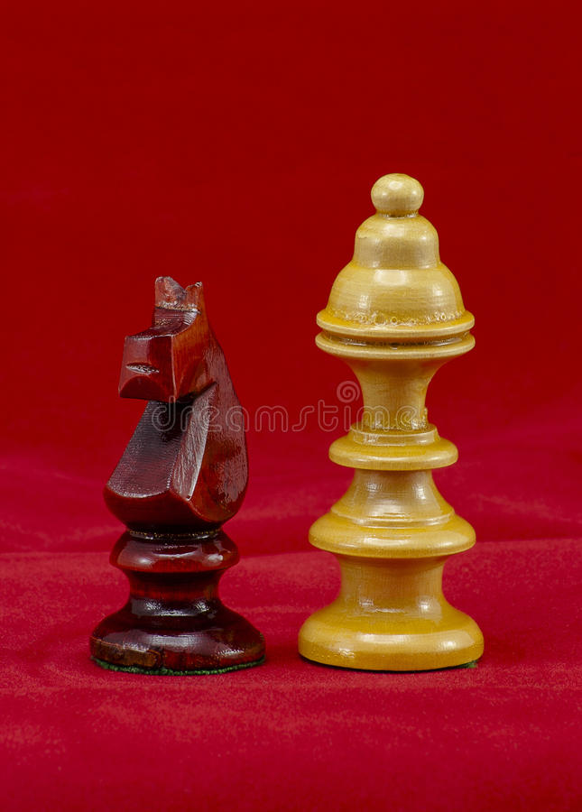 Download Chess pieces stock image. Image of yellow, game, competition - 27026251
