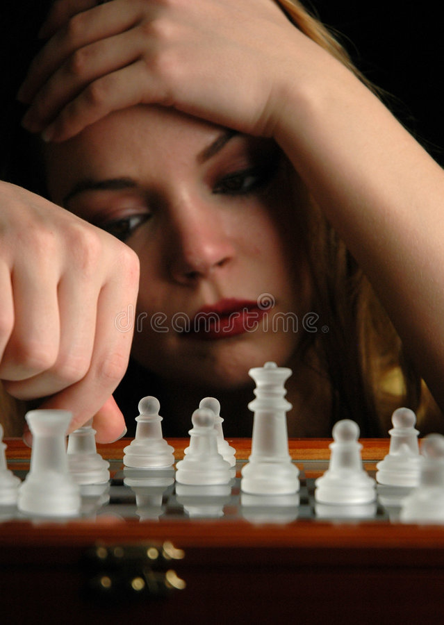 Chess pieces-9 royalty free stock image