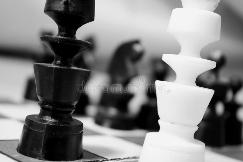 Chess Pieces On Board Free Public Domain Cc0 Image