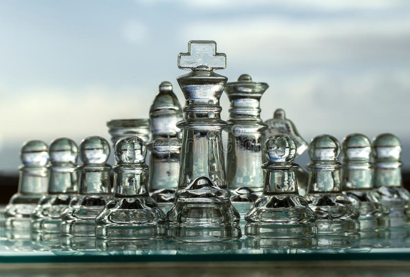 Download Chess Pieces, Board - Business Concept Series. Stock Photo - Image: 27689246