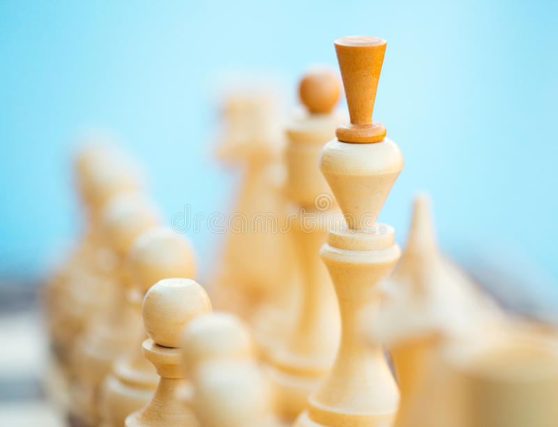 Download Chess Pieces On The Board Royalty Free Stock Photos - Image: 36686268