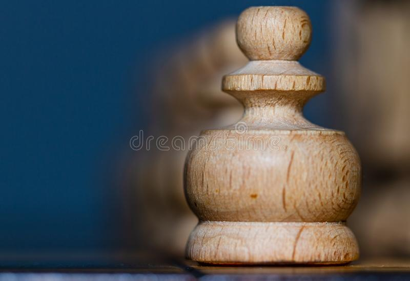 Chess pieces. Chess-royal, strategic game. stock images