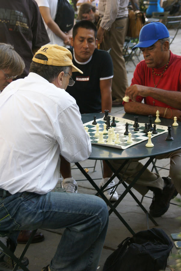 Download Chess Players Concentrate On Their Game Editorial Photo - Image: 20558806
