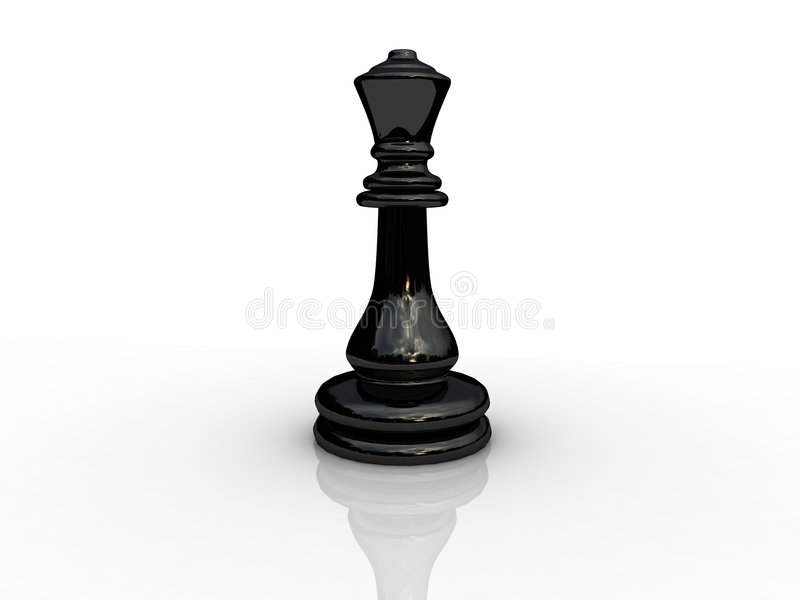 Chess queen. Background picture of chess board vector illustration