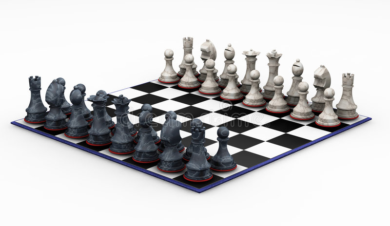 Download Chess set stock illustration. Image of background, square - 841831