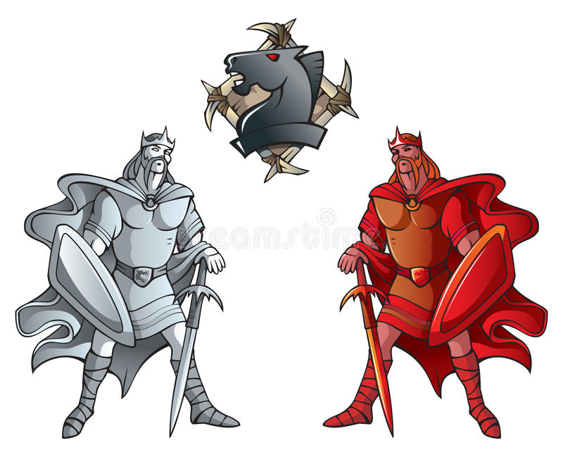 Download Chess set: Kings stock vector. Illustration of fantasy - 20107025