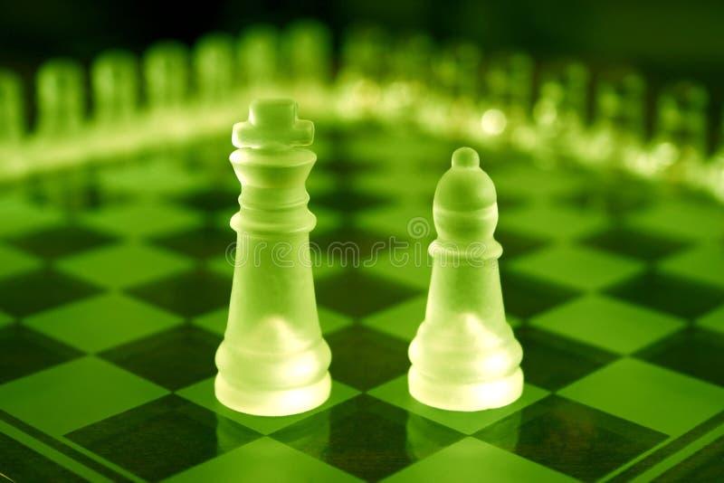 Chess Sets stock image
