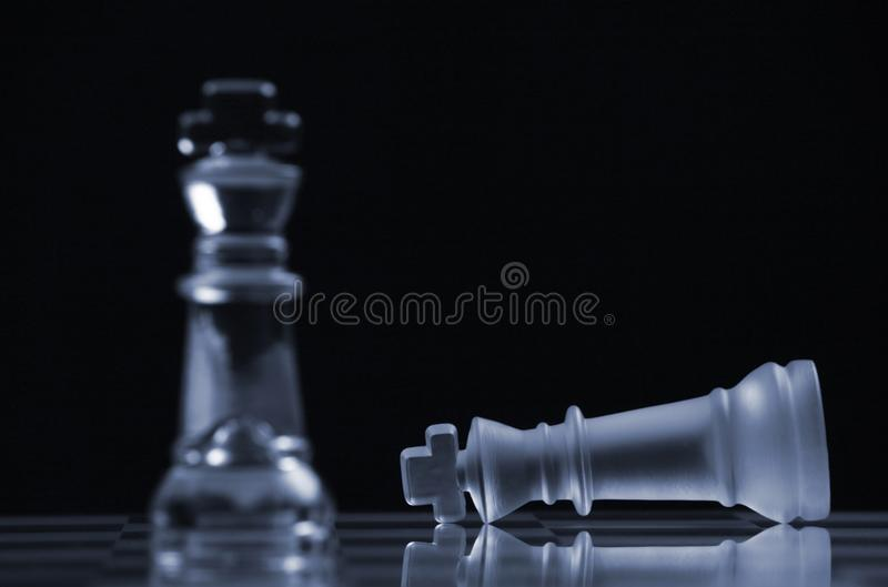 Chess Strategy royalty free stock image