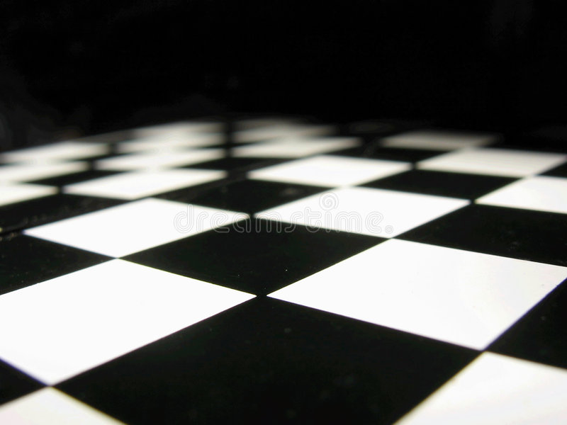 Chess table royalty free stock photo
