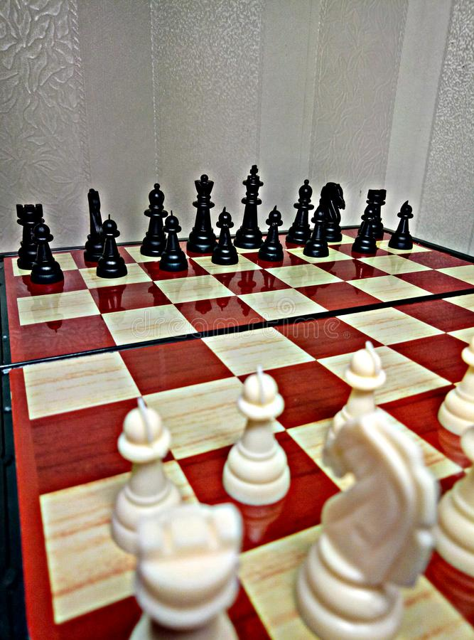 Chess is a table logic game with special figures on a 64-cell board for two rivals, combining elements of art in terms of chess c. The name `Chess` comes from stock photos