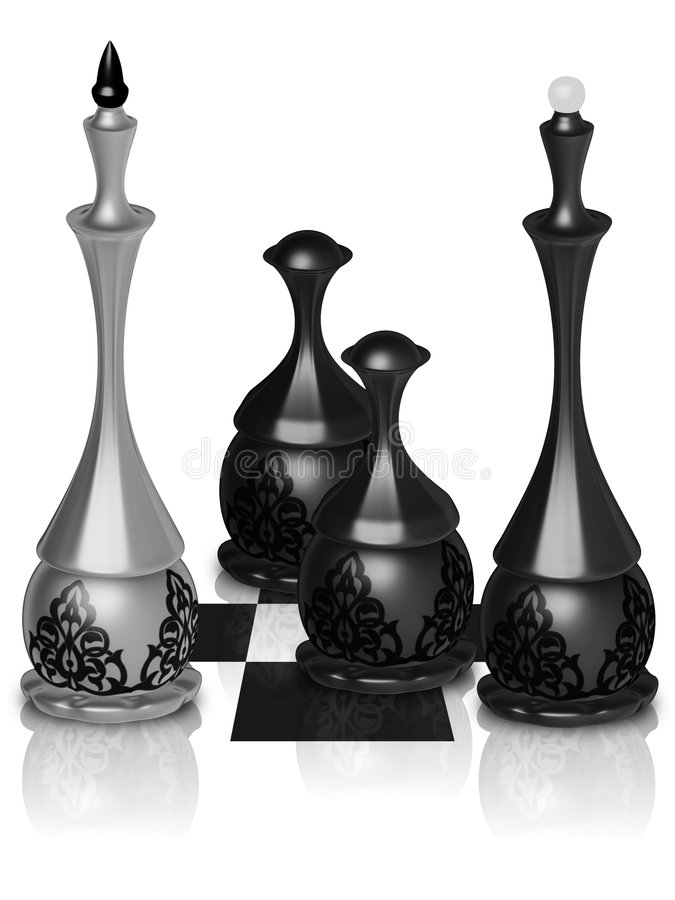 Chess Victory Stock Images