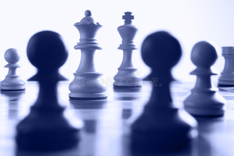 Download Chess White Queen On The Attack Stock Photo - Image of competitive, isolated: 10851322