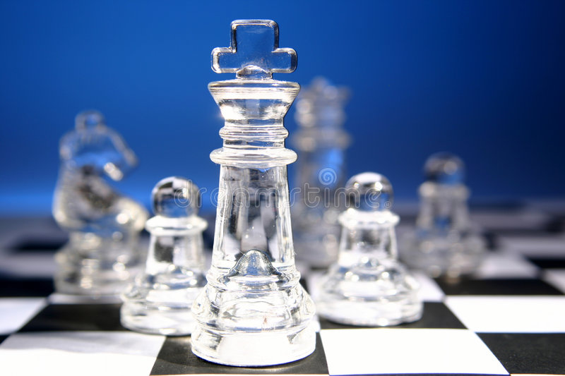 Chess2 stockfoto