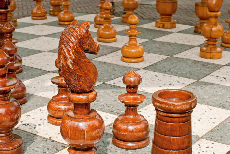 Download Chessboard stock photo. Image of objects, leisure, dark - 24626526