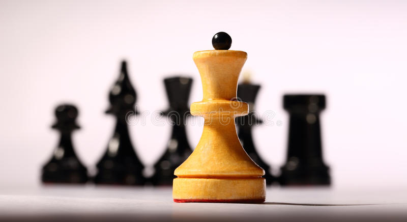 Download Chessboard stock image. Image of light, wooden, chessman - 27753359