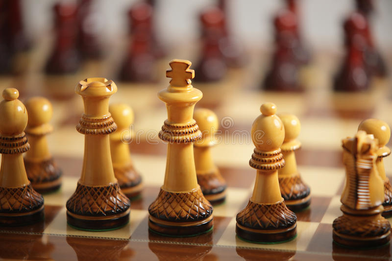 Download Chessboard stock image. Image of plan, prepared, strategy - 27793459