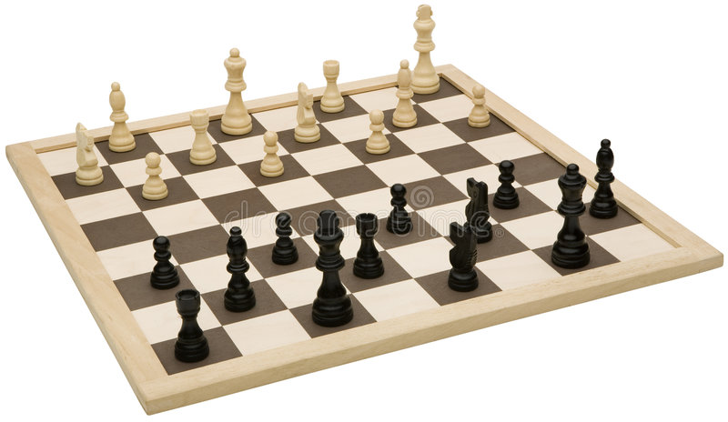 Download Chessboard stock photo. Image of closeup, king, strategy - 3446406