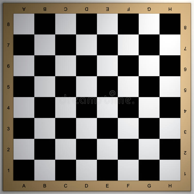 Download Chessboard 3d render stock illustration. Image of choice - 17983472