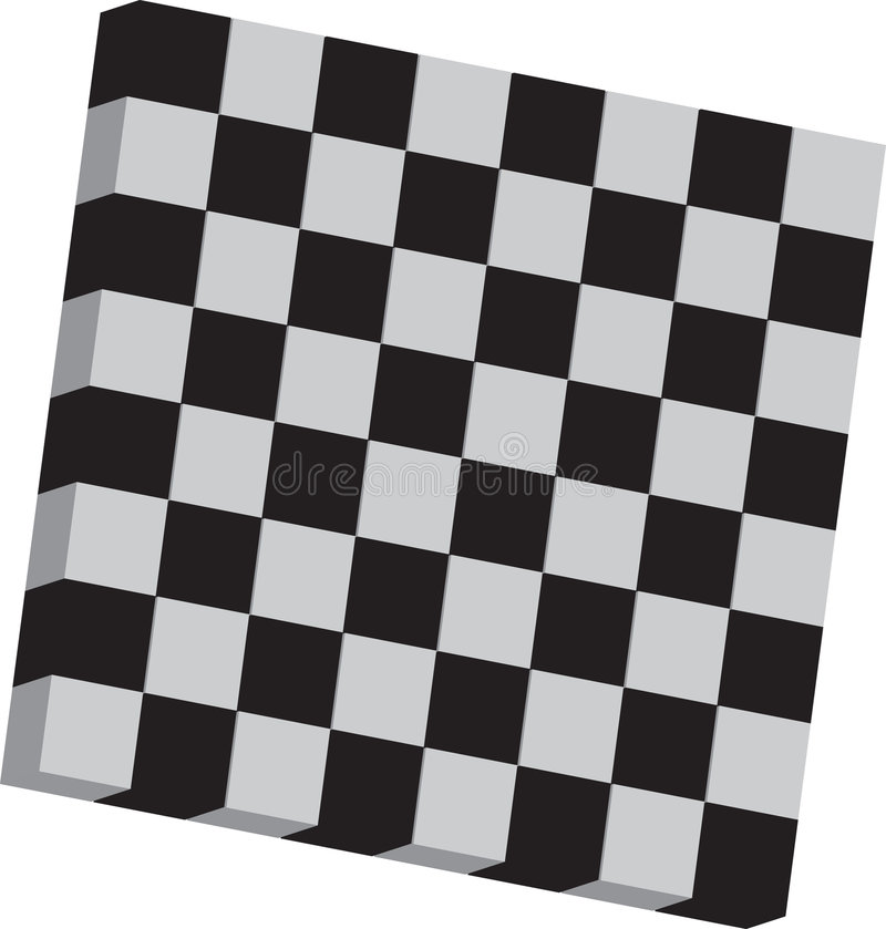 Download Chessboard stock vector. Image of graphic, fabric, checkerboard - 9349875