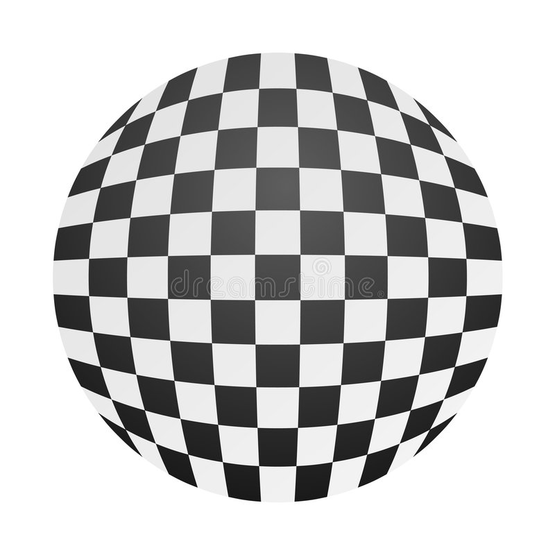 Download Chessboard ball stock vector. Image of sports, game, battle - 6987845