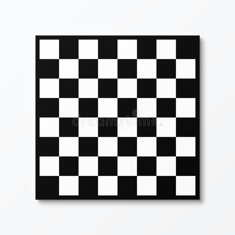 Chessboard. Illustration on white white vector illustration