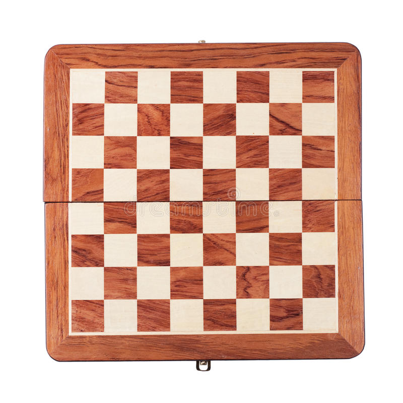 Download Chessboard Isolated Over White Royalty Free Stock Photos - Image: 23479168