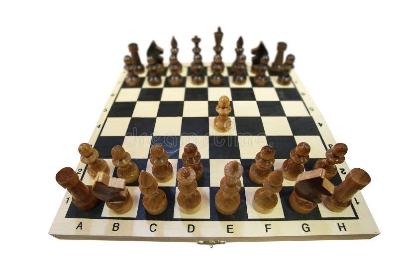 Chessboard z szachy obraz royalty free
