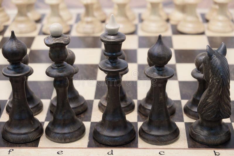 Chessboard z szachy zdjęcia stock