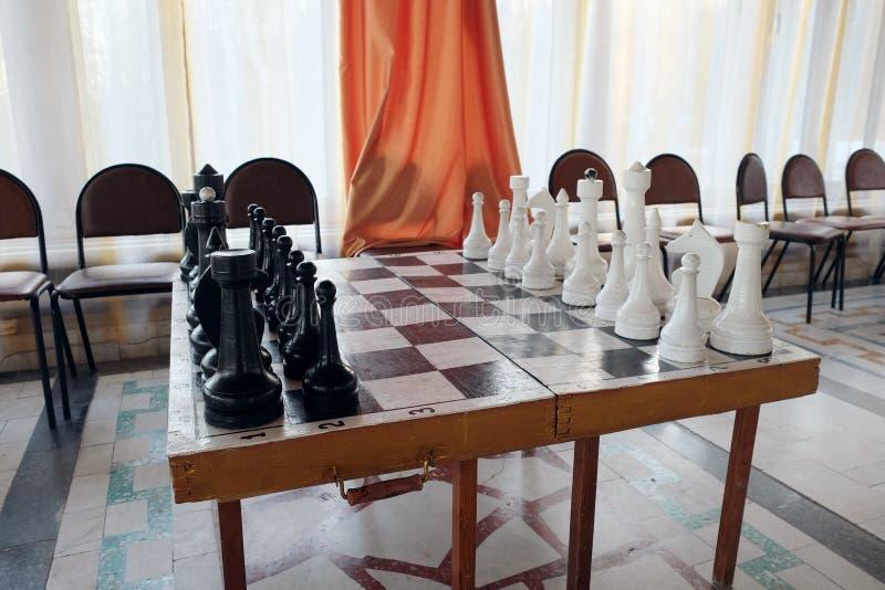 Chessboard z szachy zdjęcia royalty free