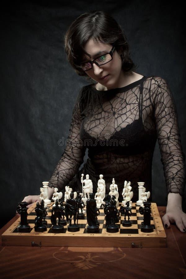 Chessmaster imágenes de archivo libres de regalías
