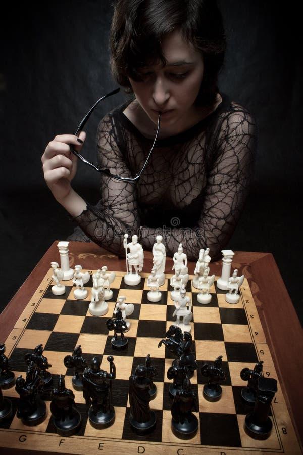 Chessmaster foto de archivo libre de regalías