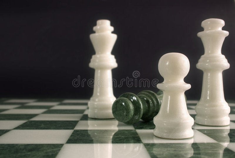Chessmate stockfotos