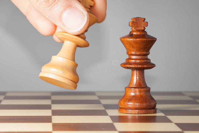 Chessmate royalty free stock photos