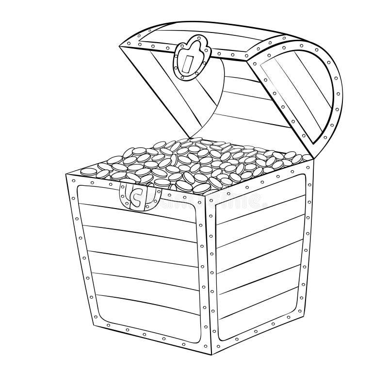 chest royalty ilustracja