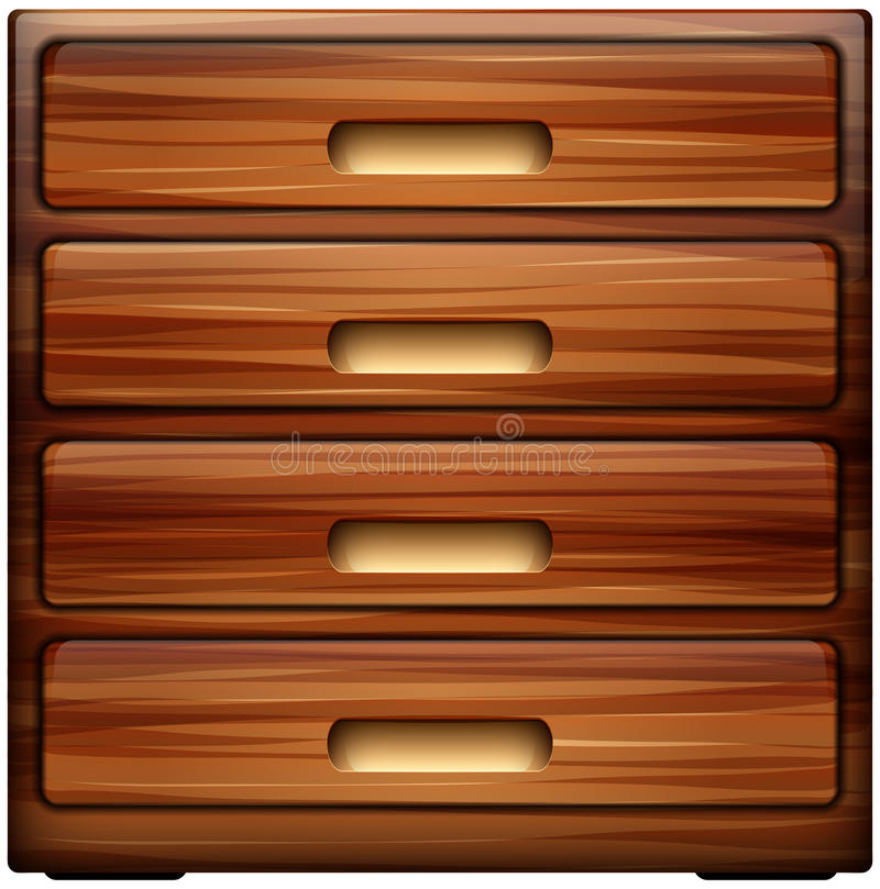Download Chest of drawers stock vector. Illustration of antique - 39511207