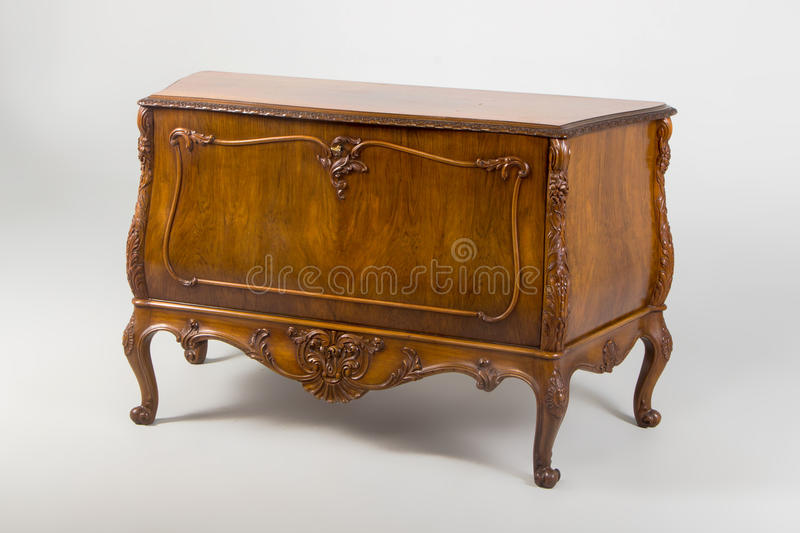 Chest of drawers, Neo-Baroque style XX century. royalty free stock photography