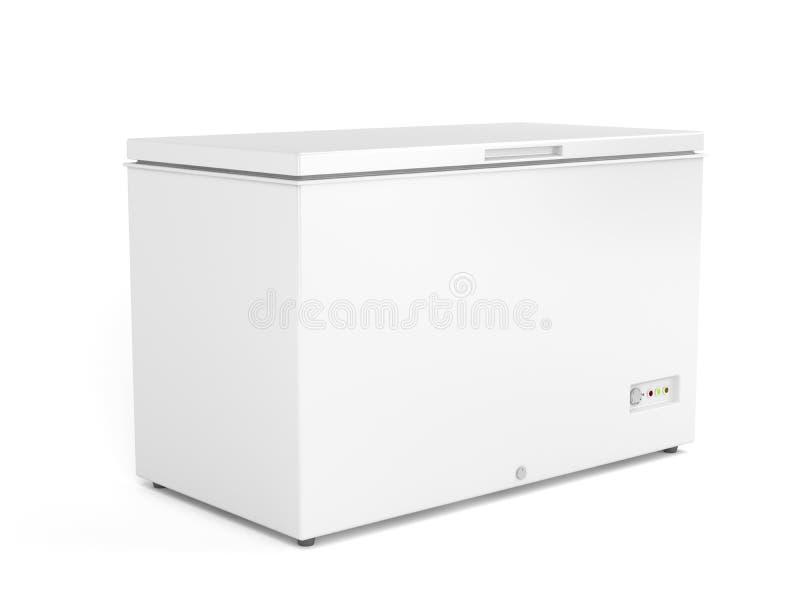 Chest freezer vector illustration