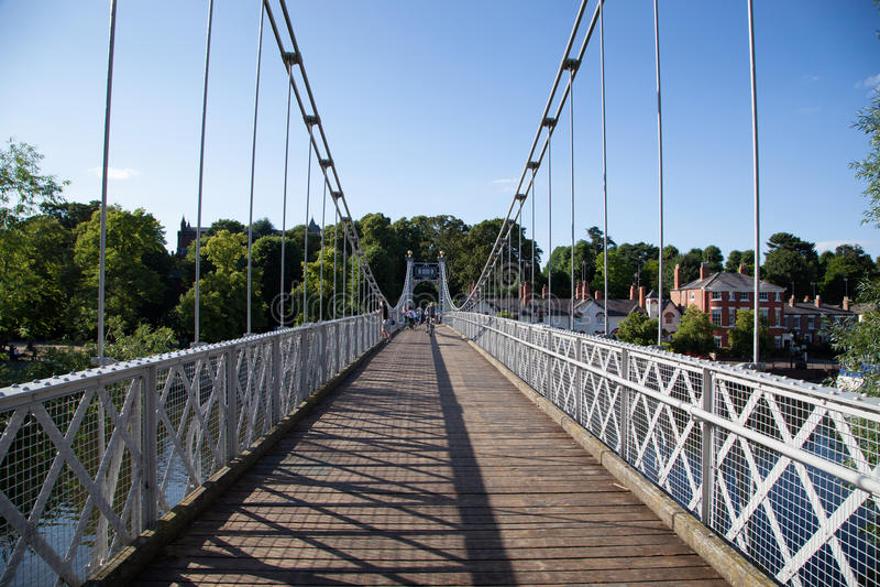 Chester Bridge England R-U photos libres de droits