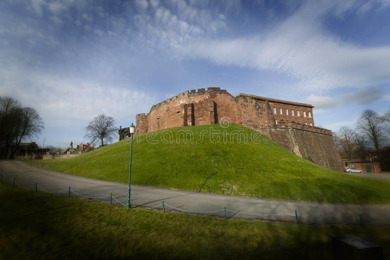 Chester Castle imagenes de archivo