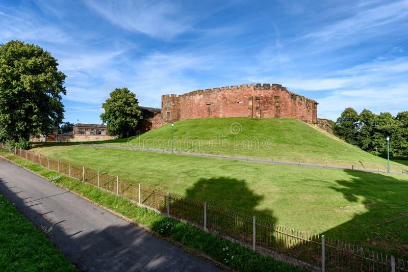 Chester Castle England arkivbild