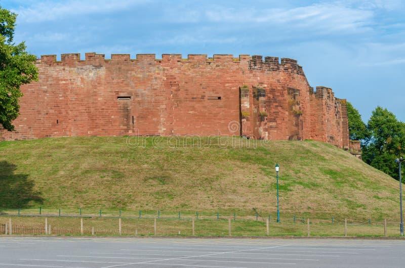Chester Castle permanece en un día soleado fotos de archivo libres de regalías