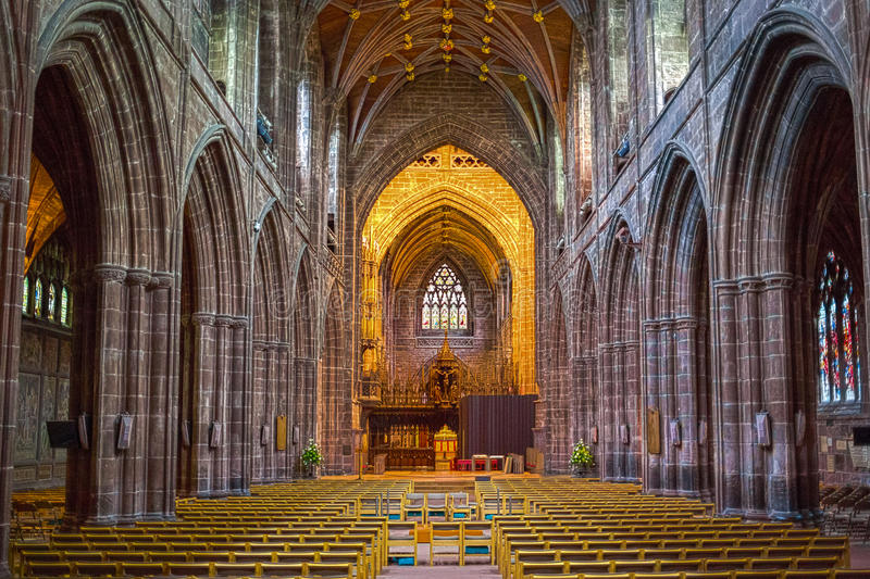 Chester Cathedral imagens de stock royalty free