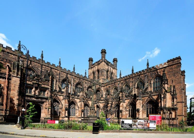 Chester Cathedral royaltyfri foto