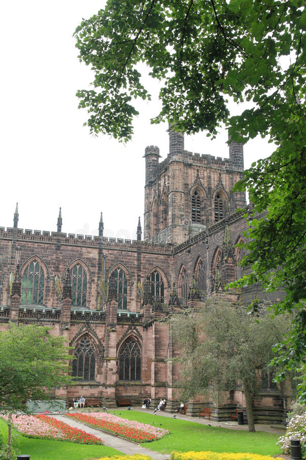 Chester Cathedral royalty-vrije stock foto