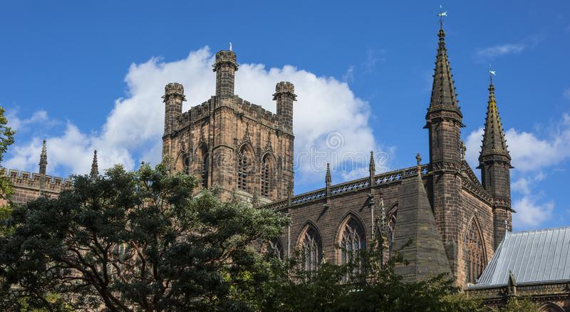 Chester Cathedral au R-U photo stock